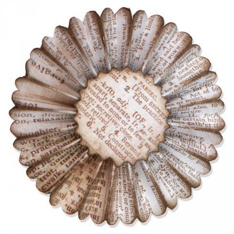 Sizzlits Decorative Strip Die Paper Rosette