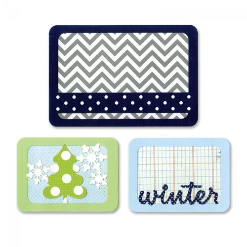 Thinlits Die set 5PK-Winter by Rachael Bright