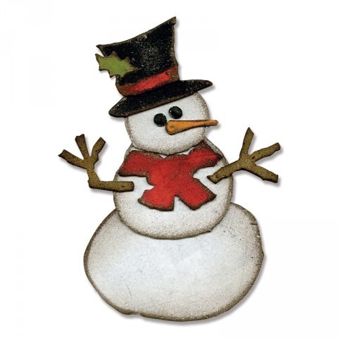 BIGZ DIE ASSEMBLY SNOWMAN by Tim Holtz