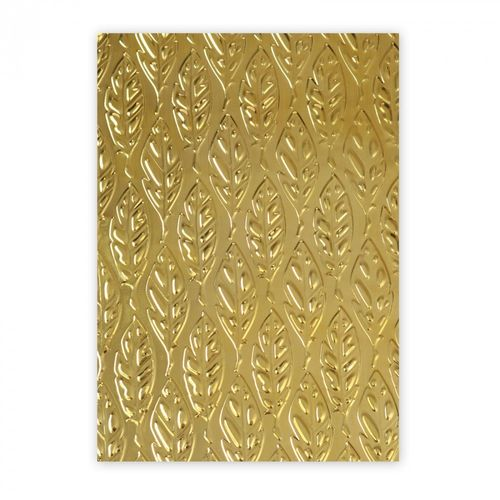 TEXTURED IMPRESSIONS EMBOSSING 3 D TIEF FEATHERS by Katelyn Lizardi DISPONIBILE SOLO DA RIVENDITORE