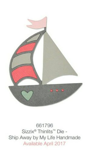 THINLITS SHIP AWAY by MY LIFE HANDMADE