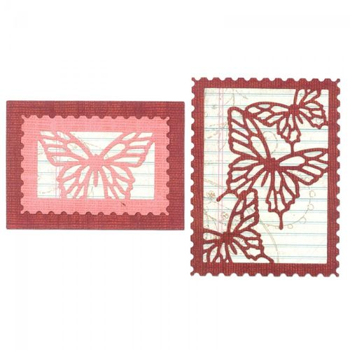 Thinlits Die Set 6PK Butterfly Cards by Paula Pascual