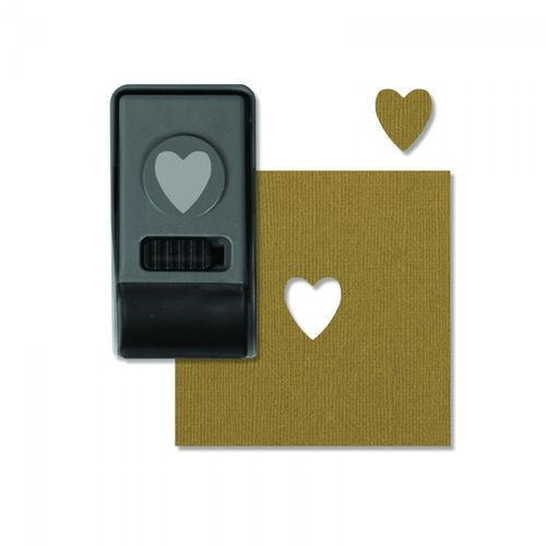 Fustella Sizzix Paper Punch HEART, SMALL by Tim Holtz