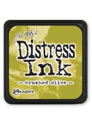 MINI DISTRESS PAD-CRUSHED OLIVE